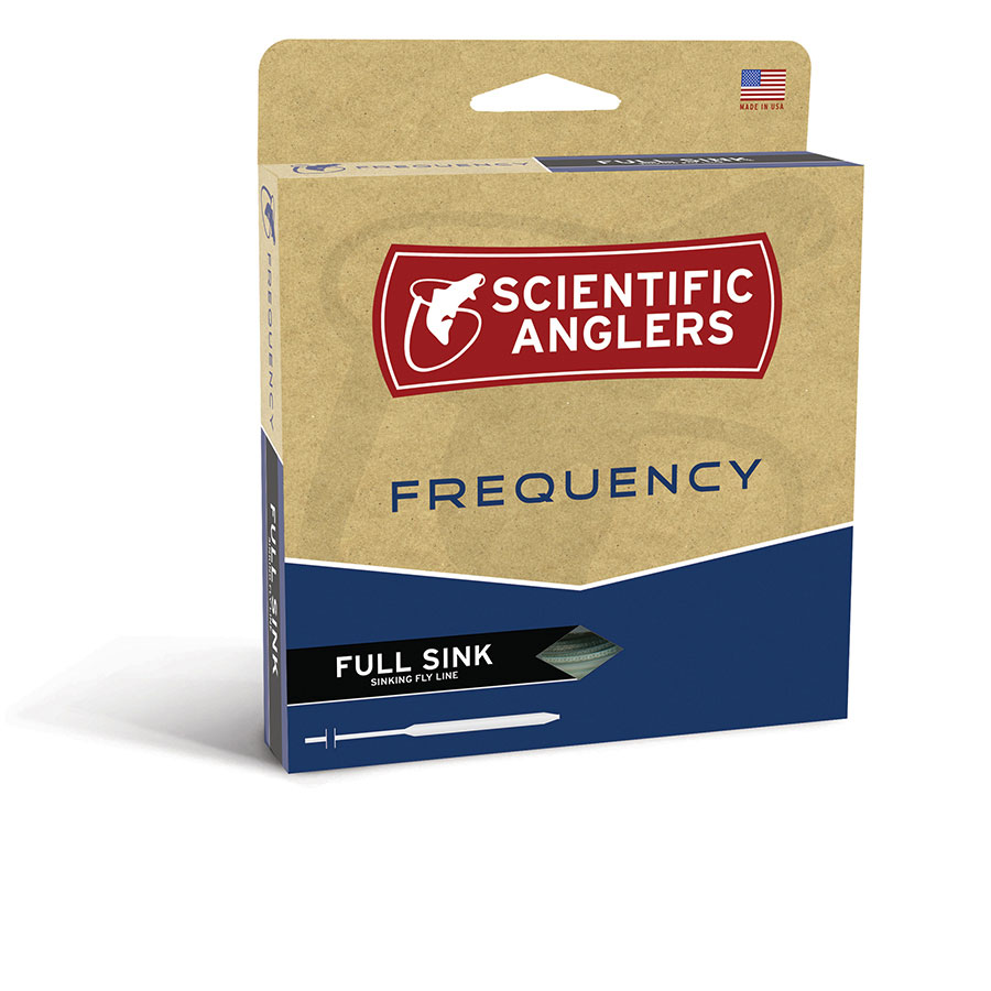 SCIENTIFIC ANGLERS FREQUENCY WF-5-S #5 WEIGHT TYPE 3 FULL SINKING FLY LINE
