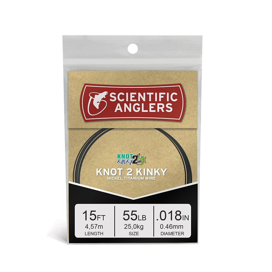 Knot 2 Kinky Premium NiTi Wire   Scientific Anglers